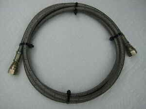 Dirt Cheap Nos Nitrous Nx Holley Edelbrock 6ft 72 X 4an X 4an Line Hose Used