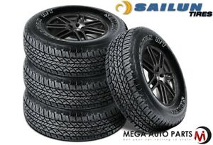 4 Sailun Terramax H T 225 75 15 102s Owl All Season Highway Terrain Truck Tires