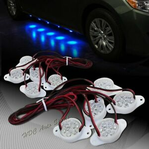 Brabus Style Blue 90 led Underglow Under Car Puddle Lighting Lamp Universal