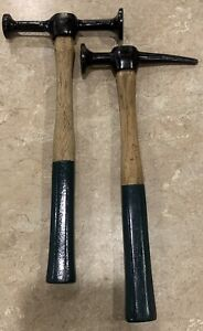 Vintage Proto Auto Body Hammers 1421 And 1428 Lot Of 2 Nice