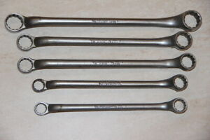 5 Blue Point Box End Offset Wrench Set