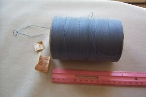 Large Spool Of Cleopatra Cotton Buttonhole Gimp American Thread Co Copen Blue