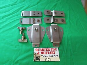 Jeep Willys M38 Top Bow Bracket Kit G740