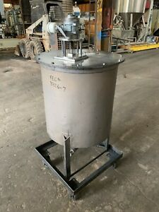 35 Gal Stainless Steel Mix Tank 3326 7