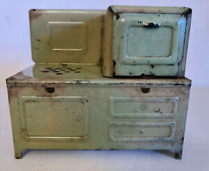 Antique Vintage Child S Toy Electric Stove