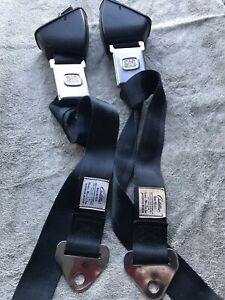 1965 Cadillac Deville Black Deluxe Hamill Seat Belts