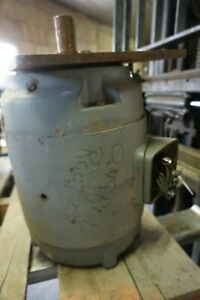 Unsrud Inverted Router Motor 3 Phase 7 1 2 10 Hp