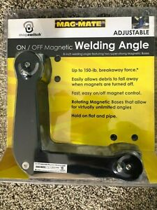 Mag mate Awa0150ms On off Magnetic Adjustable Welding Angle