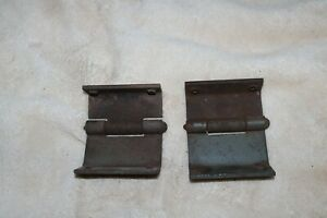 1938 Plymouth Pt57 Windshield Hinges Used Original 1937 1936 Dodge