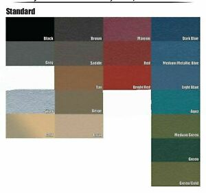 1963 Cadillac Sedan Trunk Side Panel Kit 5 Pieces 19 Colors