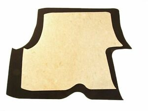 1978 1987 Oldsmobile Cutlass Black Trunk Carpet With Jute Backing