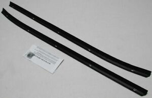 1975 76 Chevy Monza Outer Window Beltline Weatherstrip Kit 2 Pieces