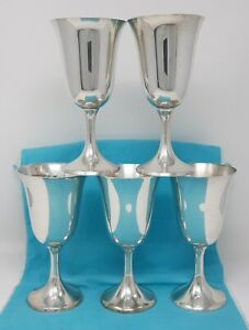 Manchester Sterling Goblet 808 6 5 8 Tall 3 1 4 Across 5 Available