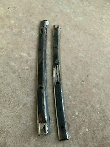 1968 1972 Original Gm A Body Convertible Pillar Channel Moldings Pair