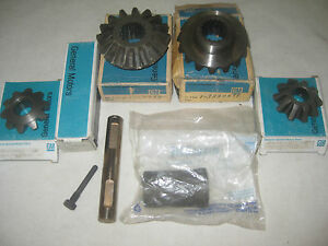 Nos Chevy 150 210 Nomad Belair 1955 1956 1957 Rear End 10 Bolt Gear Set