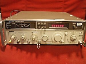 Hp Tektronix Keysight 8640b Signal Generator 0 5 To 512 Mhz Opt 003 7857
