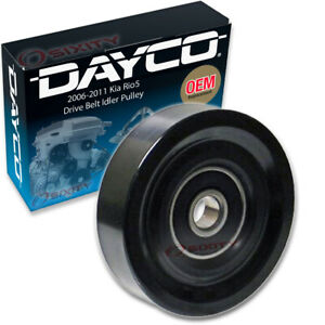 Dayco Drive Belt Idler Pulley For 2006 2011 Kia Rio5 Tensioner Pully Ab