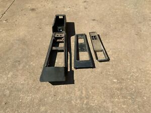1969 1970 Original Black Ford Mustang Mach 1 Console