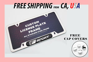 Secure 4 hole Lexus Is300 Is350 Chrome License Plate Frame Rear Front Back Cover
