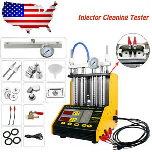 Autool Ct150 Car Ultrasonic Fuel System Injector Tester Cleaner Us Stock