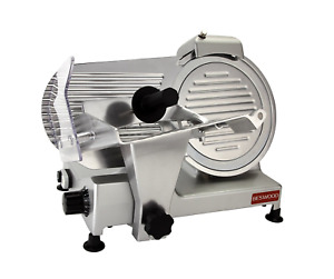 Beswood 10 Premium Chromium plated Carbon Steel Blade Electric Deli Meat Cheese