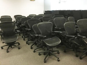 Herman Miller Aeron Chair Size B Fully Adjustable Local Delivery Ok
