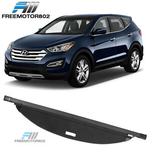 Fits 17 18 Hyundai Santa Fe Sport Retractable Tonneau Cargo Shade Cover