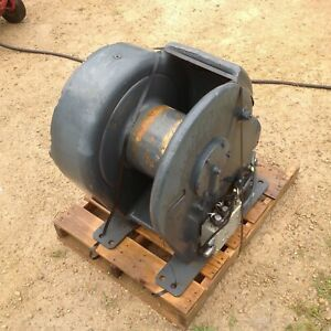 John Deere 6000 Two Speed Hydraulic Drive Winch For Skidder Or Dozer