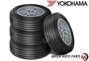 4 Yokohama Avid Touring s P195 65r15 89s All season Tires 620ab 65k Mi Warranty