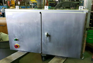 Hoffman Stainless Steel Electrical Enclosure 24 X 42 X 8 A 244208wfsslp