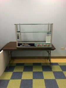 Display Case Retail Store Bakery Business Counter Shelves Glass