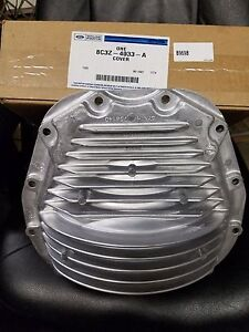 Ford F250 F350 Super Duty Rear Axle Differential Cover Aluminum 10 25 10 5 Oem