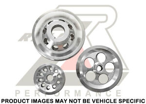Ralco Rz Performance Underdrive Pulley Set For Prelude 92 96 F22a H22a H23a