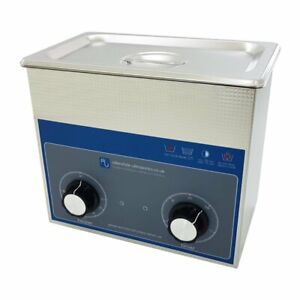 Ultrasonic Cleaner 3 Litre Professional Dial Tank Heated Ultrasonic Bath
