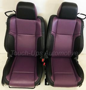 2015 2019 Dodge Challenger Sxt Rt Custom Design Katzkin Leather Seats Purple Kit