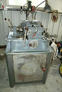 Sioux Valve Grinder Machine Model 645 L With Coolant Pump And Cabinet