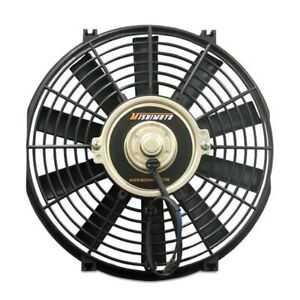 Mishimoto Performance Single Black 16 Slim Electric Radiator Cooling Fan