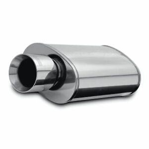 Magnaflow Stainless Muffler W Tips Street Series Inlet Outlet 2 25in 4in 14832
