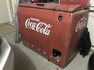Vintage Coca Cola Westinghouse WD-12 Cooler Collectible