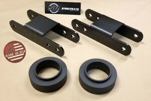Sr 04 12 Chevy Colorado 2wd 4x2 Billet 3 Front Lift 3 Rear Leveling Kit