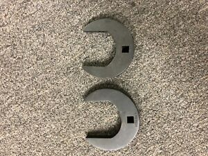 Snap On Set Of 2 Crows Feet 2 And 2 1 8 Crowsfoot 3 8 Drive Diesel Aerospace