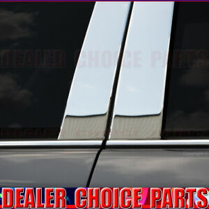 Chrome Stainless Steel Pillar Posts For 2008 2015 16 2017 Chevy Traverse 6pc Set