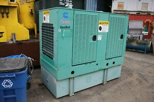 Onan Genset 60kw Dgcb 4477975 Cummins 3 9 Turbo Diesel 4bt3 9 g4 1 3ph Generator
