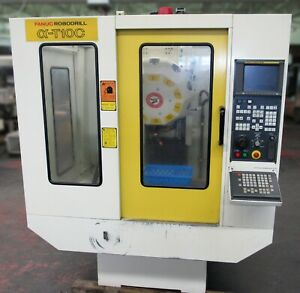 Fanuc Robodrill Alpha T10c Vertical 3 Axis Cnc Machining Center Mill Id M 074