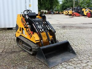 2016 Boxer 525dx Mini Skid Steer Track Loader Kubota Diesel Engine Morbark Ind