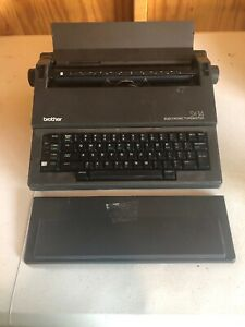 Brother Portable Electronic Typewriter Sx 14