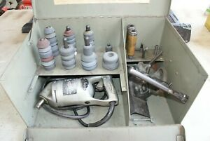 Sioux Model 129 Valve Seat Grinder With Stones 8 Pilots