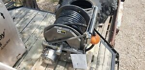 Hannay Electric Wind 3 4 Hydraulic Hose Reel With High Pressure Hose New