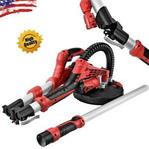 Drywall Sander Electric Sanding Tool W stretchable Handle fold Packing 110v
