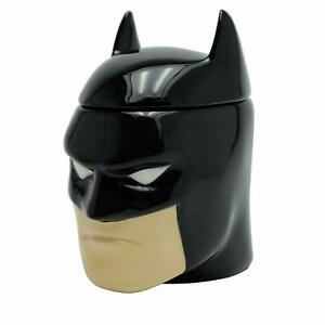 OFFICIAL DC COMICS 3D BATMAN COFFEE MUG CUP WITH LID NEW IN GIFT BOX